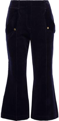 Acne Studios Cotton-blend Corduroy Kick-flare Pants