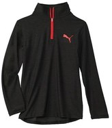 Puma Boys' 1/4-zip Top.