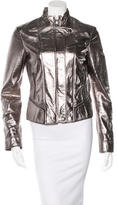 Dolce & Gabbana Metallic Leather Jacket