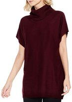 Vince Camuto Drop Shoulder Turtleneck Top