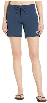 Roxy To Dye 7 Boardshorts (Mood Indigo) Women's Swimwear