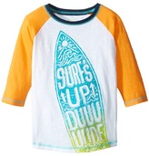 Hatley Surfs Up 3/4 Length Sleeve Raglan Tee Boy's T Shirt