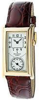 Peugeot Men's Vintage-Style Contoured Dial Doctor's Watch