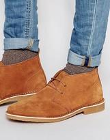 Jack & Jones Gobi Suede Chukka Boots