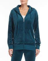 Juicy Couture Velour Gothic Logo Hoodie
