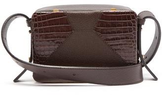 Lutz Morris Maya Grained-leather Cross-body Bag - Brown
