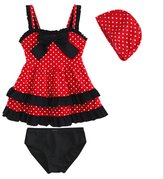 Remeehi Kid Girl Two-piece Swimsuits Upf 50 One-Piece Bathing Suit 11