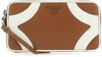 Prada Colour Block Mini Crossbody Bag