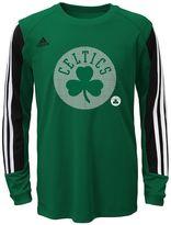 adidas Boys 8-20 Boston Celtics Prestige climalite Tee