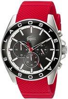 Lacoste Men's 2010853 Westport Analog Display Japanese Quartz Red Watch