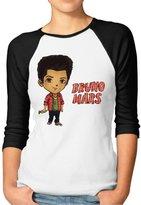 Bruno Mars SHOPPING BAR1 Half Sleeve Lady Antibacterial Shirt With Bruno Mars