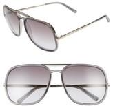 Chloé Women's 60Mm Gradient Lens Navigator Sunglasses - Brown