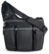 Diaper Dude Infant Shoulder Messenger Bag - Black