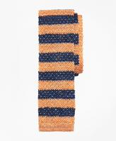 Brooks Brothers Melange Bold Stripe Knit Tie