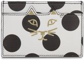 Charlotte Olympia Polka Dot Feline Card Holder