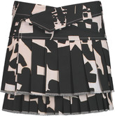 Isabel Marant Kyler printed cotton mini skirt