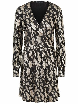 Vero Moda Women's Romeo Print Wrap Dress