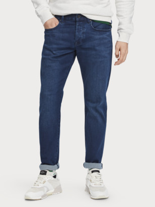 Scotch & Soda Ralston - Spyglass Dark Regular slim fit jeans | Men