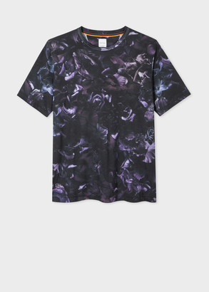 Men's 'Floral Photo' Print T-Shirt