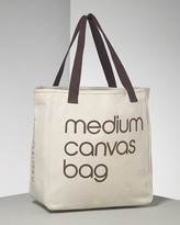 Bloomingdale's Medium Recycled Cotton Canvas Tote Bag