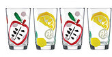 Kate Spade All in Good Taste Pretty Pantry All-Purpose Glasses, Set of 4