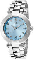 Cabochon 16088-25 Women's Cairo Stainless Steel Light Blue Dial