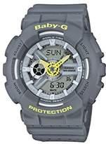 Casio Baby-G Women's Analogue/Digital Quartz Watch with Resin Strap – BA-110PP-7AER