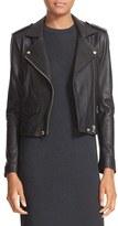 IRO 'Ashville' Lambskin Leather Moto Jacket