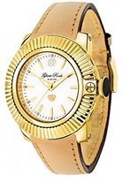Glam Rock Women's GR31004 SoBe White Dial Natural Color Leather Watch