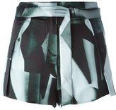 Ann Demeulemeester belted shorts - women - Silk - 38