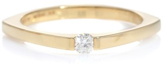 ALIITA Aro Escondida 9kt gold diamond ring