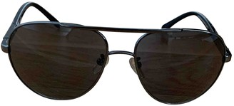 Givenchy Anthracite Metal Sunglasses