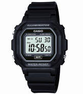 Casio Mens Black Resin Strap Square Digital Sport Watch F108WH-1AOS