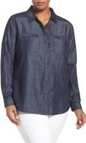 Tart Plus Size Women's 'Andy' Denim Shirt