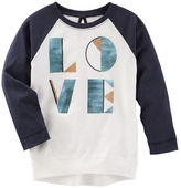 Osh Kosh TLC Love Raglan Tunic