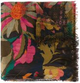 Faliero Sarti floral print scarf - women - Silk/Modal/Cashmere - One Size