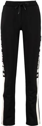 Dolce & Gabbana Side Logo Stripe Track-pants