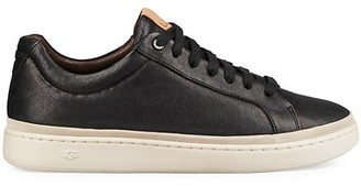 UGG Cali Leather Low-Top Sneakers
