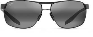Maui Jim The Bird PolarizedPlus2(R) 63mm Rectangle Sunglasses