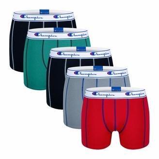 Champion Men's Boxer Coton X5 Shorts