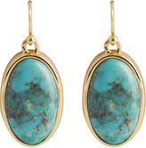 Barse FINE JEWELRY Art Smith by Turquoise Oval Earrings