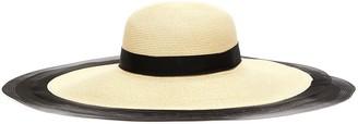 Eugenia Kim 'Sunny' horsehair edge straw hat