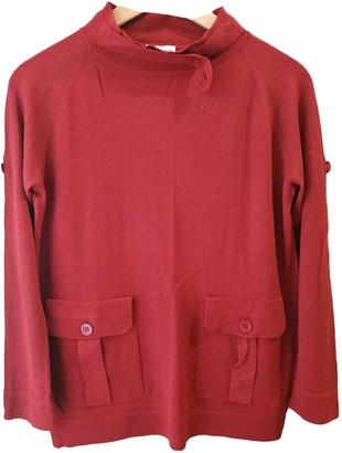 Dries Van Noten Burgundy Synthetic Knitwear