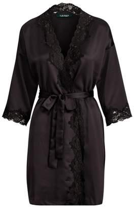Ralph Lauren Satin Kimono Robe