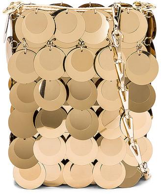 Paco Rabanne Sparkle Mini 69 Bag in Light Gold | FWRD