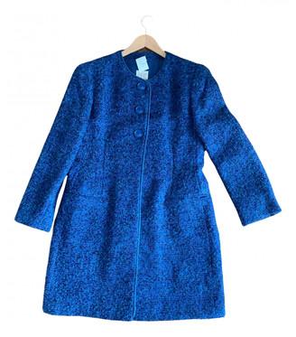 Gianfranco Ferre Blue Wool Coats