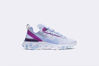 Nike Wmns React Element 55 - 36 / AZUL / WOM