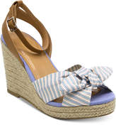 Nautica Curia Platform Espadrille Wedge Sandals Women's Shoes