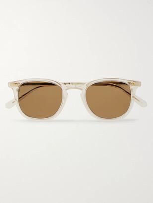 Mr Leight Cooper S Round-Frame Tortoiseshell Acetate Sunglasses