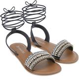 Accessorize Lukshana Ankle Tie Sandals